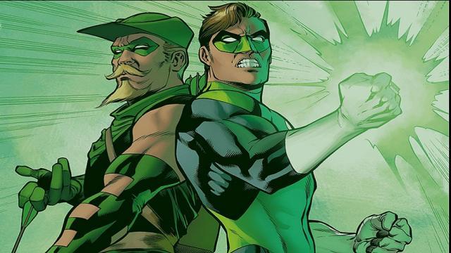 Resumen de la relación: Hal Jordan y Oliver Queen
