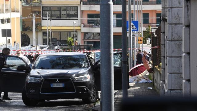 Feminicidio en Terzigno en la provincia de Nápoles