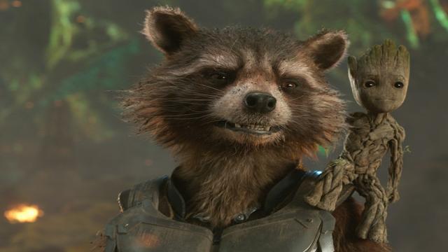 Rocket Raccoon está menos emocionado por conocer a los Vengadores