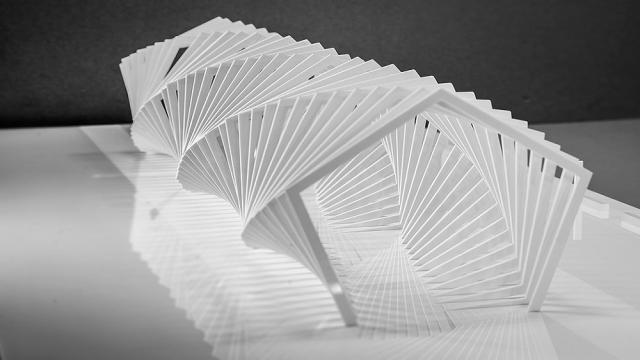 El arte del plegado de papel es muy útil