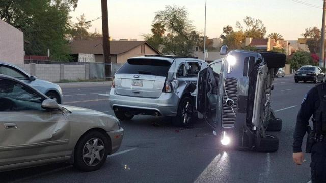 Primera muerte producida por un auto sin conductor