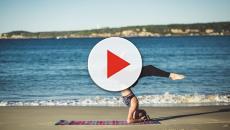 Yoga de cannabis en California