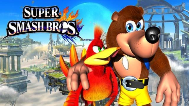 Microsoft sigue dispuesto a dejar que Banjo aparezca en Super Smash Bros