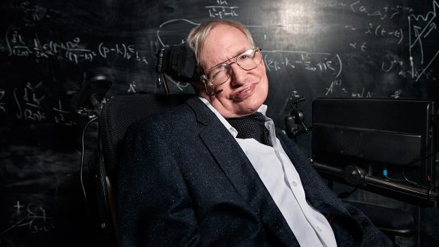 La luz de Stephen Hawking brilla entre las estrellas