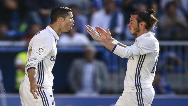 Cristiano Ronaldo al parecer no quiere a Gareth Bale para la próxima temporada