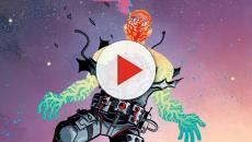 Resumen del comic 'Cave Carson tiene un ojo interestelar'