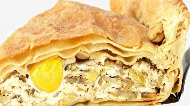 Cucina: torta pasqualina con erbette e ricotta