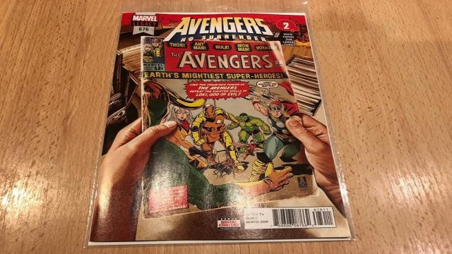 Nuevos avances: Avengers # 676