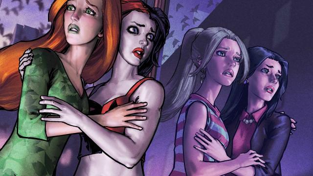Avances de: Harley & Ivy Conoce a Betty y Veronica # 4