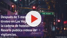 Salen a la luz nuevos vídeos del tirador de Las Vegas