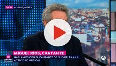 Reprimenda de Miguel Ríos a Rajoy que ha salpicado a toda España
