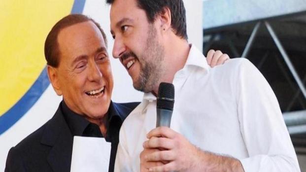 Lega, Salvini mette al muro Forza Italia e Silvio Berlusconi