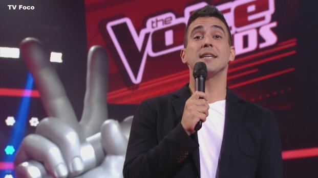 The Voice Kids: Maiara eliminada, chora, relata morte e emociona André Marques
