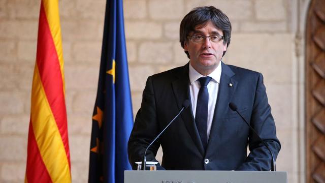 El líder catalán Carles Puigdemont en poder de la policía alemana
