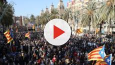 Cataluña: Ayer hubo manifestaciones multitudinarias