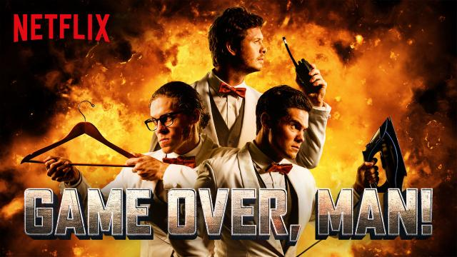 Entérate de la nueva comedia de Netflix 'Game Over, Man'