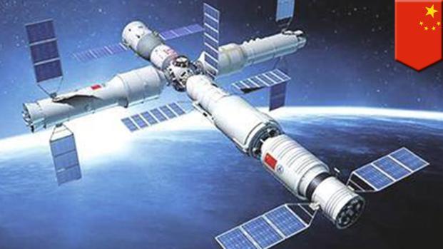 China sufre un importante descontrol en su estación espacial