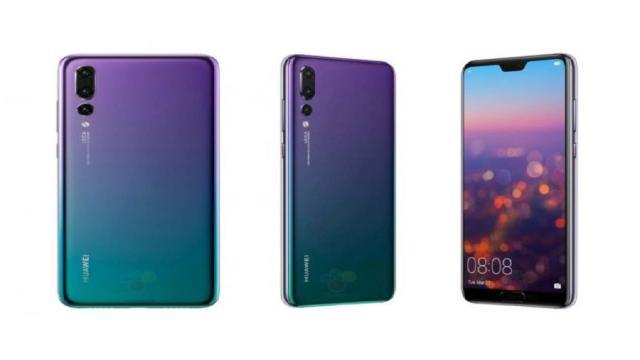 Huawei's P20 es un teléfono brillante y extravagante
