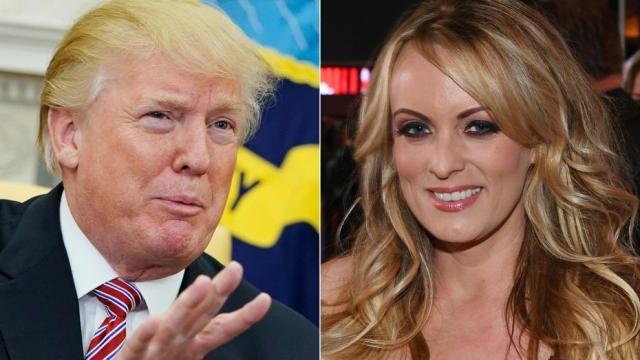 Trump amenazó a Stormy Daniels