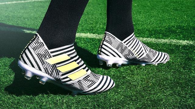 Leonel Messi saca al mercado los nuevos zapatos, Nemeziz