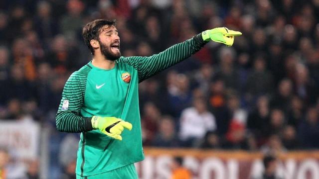 Trois grands clubs européens suivent Alisson de l'AS Roma