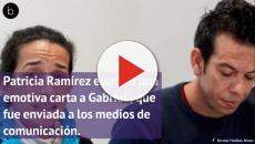Patricia Ramírez, la madre de Gabriel, le escribe una carta a su hijo