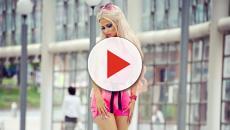 Mulher gasta R$ 4.500 por mês para se parecer com a Barbie