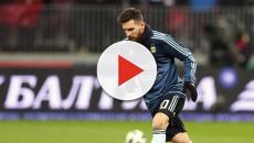 Messi arma grande confusão após jogo da Argentina