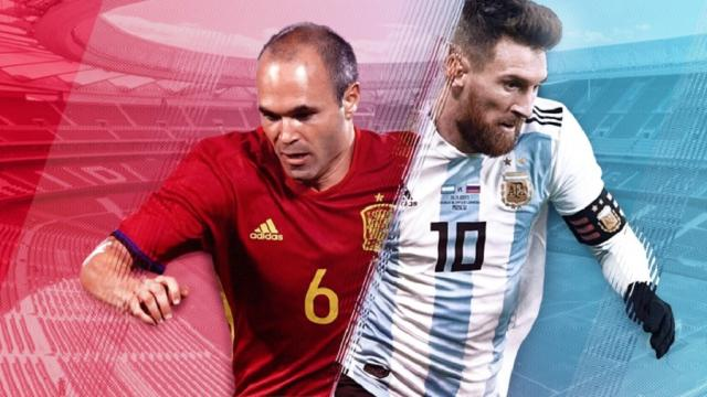 Posibles tácticas y alineaciones del gran partido amistoso España vs Argentina