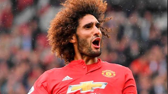 Marouane Fellaini podría jugar con gigante francés al dejar el Manchester United