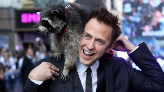 Película guardianes de la galaxia con James Gunn