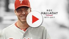 Blue Jays honor the late Roy Halladay with retirement ceremony