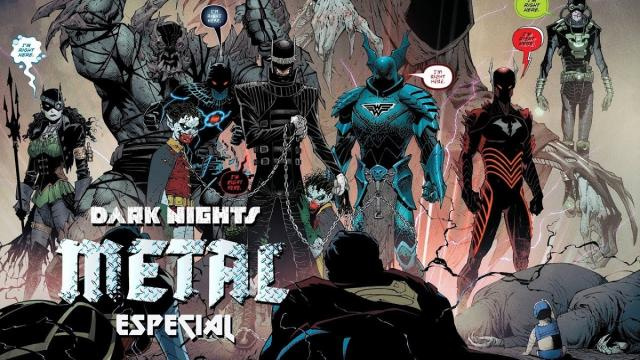 Dark Nights: Metal capítulo 6, la reseña