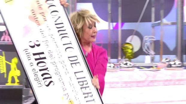 """La ganadora del premio mayor """"Mila Ximénez"""""""
