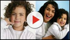 Mini Ana Paula Arósio cresceu e está ainda mais idêntica a atriz