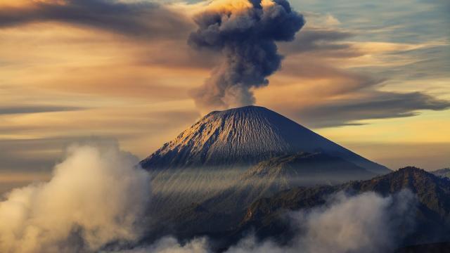 Los terremotos causaron un aumento en la actividad en El Popocatépetl