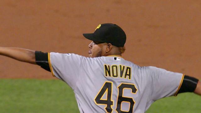 Ivan Nova supera el lento comienzo con los Piratas de Pittsburgh