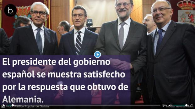 Rajoy se pronuncia ante la extradición de puigdemont