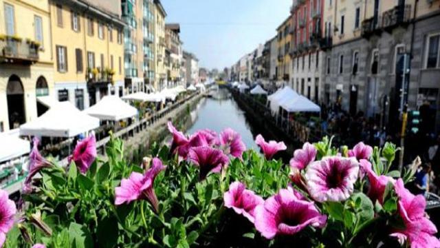Domenica 8 aprile a Milano, 'Fiori e Sapori sul Naviglio Grande'