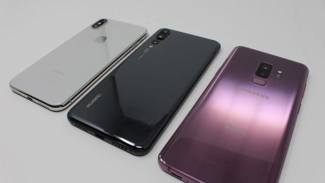 ¿Cuál es la elección correcta entre Galaxy S9, P20 o iPhone X ?