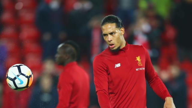 La impresionante salva del Liverpool en el primer tiempo