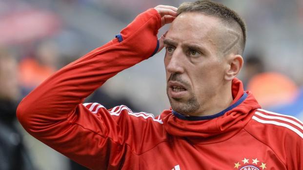 Mercato : Franck Ribéry vers un départ du Bayern Munich