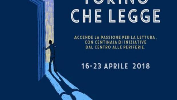 Il 16 aprile parte la 4^ edizione di 'Torino che legge'