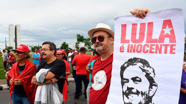 Lula da Silva no piensa entregarse a la Justicia