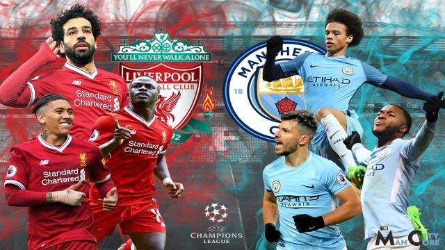 Liverpool domina el Manchester City en la etapa de la Liga de Campeones