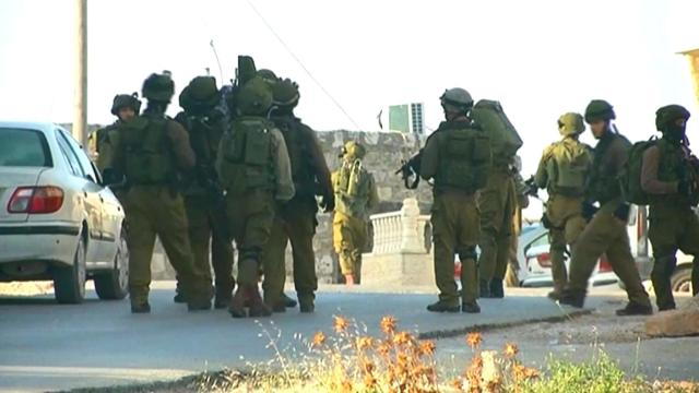 Las fuerzas militares israelíes matan a 17 palestinos en la Franja de Gaza