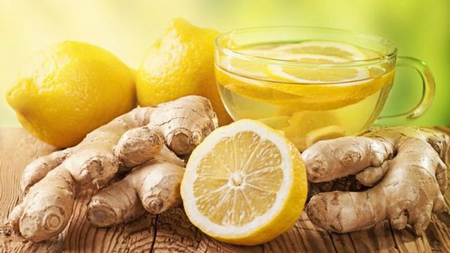 Infusión de jengibre y limón para la desintoxicación