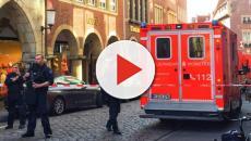 Un sujeto a bordo de una furgoneta arremetió contra los ciudadanos de Münster