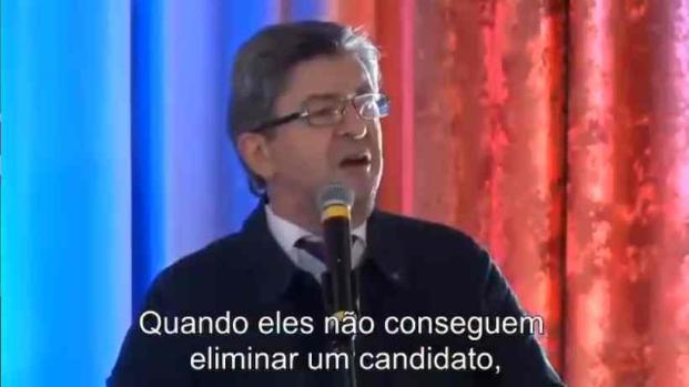 Jean-Luc Mélenchon soutient Lula après son incarcération