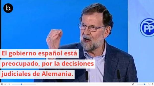 ¿Será extraditado Puigdemont? Duda muy fuerte por parte del gobierno de Rajoy
